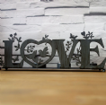 30% OFF Iron Love Candle Holder